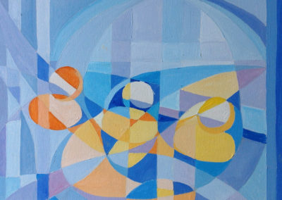 I PICCOLI 40x50 pittura ad olio su tela 2016