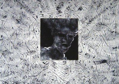 MAN – ERG | Acrilici su tavola e tela 70 x 70