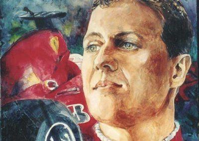 Schumacher | acrilico su tavola cm 30x30
