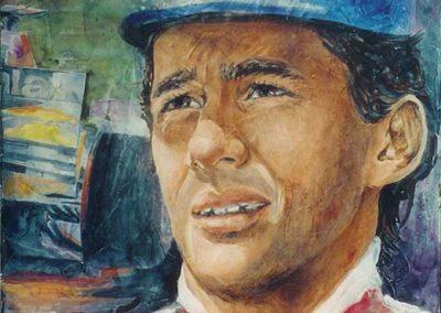 Senna | acrilico su tavola cm 30x30