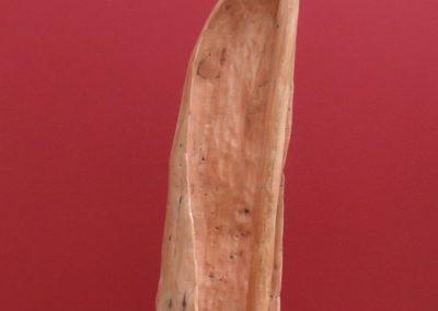 Spinnacher | Scultura a tutto tondo legno di ciliegio 45X12x15