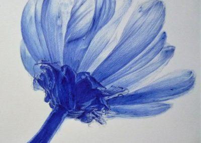 In the air | Biro su carta cm. 26x20,7