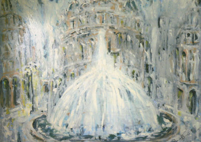 La-fontana-gelata,-acrilico-su-tela,-cm.-80x100