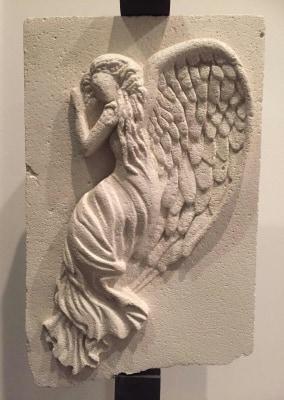 The angel | Gasbeton cm. 40x25