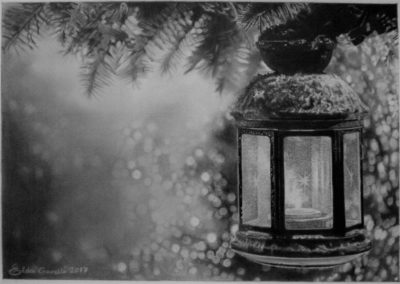 The light after the hope … for you 29 | Grafite su carta cm. 20,1x28,6