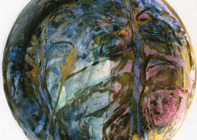 Ventennale Centro d'Arte La Spiga, 2007, pittura su ceramica II e III fuoco